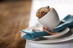 ROUND Espressotasse mit Untertasse 70 ml, Porzellan