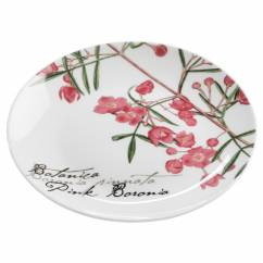 BOTANIC Teller Floral Boronia, 15 cm, Bone China Porzellan, in Geschenkbox