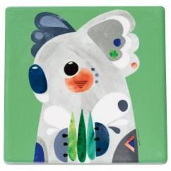 PETE CROMER Topfuntersetzer Koala, 20 cm, Keramik - Kork