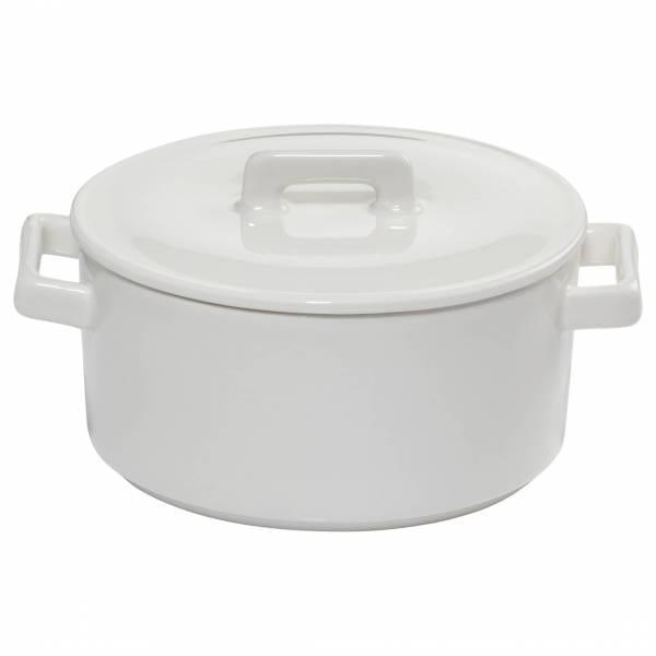 EPICURIOUS Kasserolle 500 ml, Porzellan, in Geschenkbox