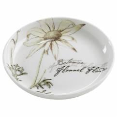 BOTANIC Untersetzer Floral Flanell, 10 cm, Bone China Porzellan, in Geschenkbox