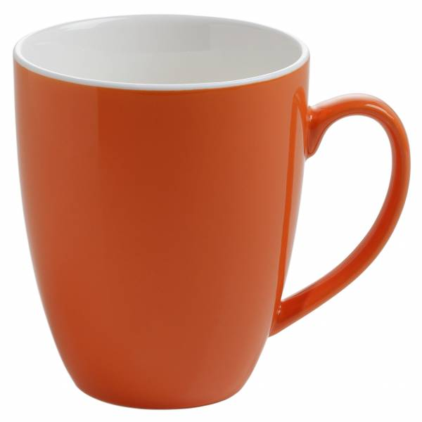 PAINT Becher Coupe Orange, Porzellan