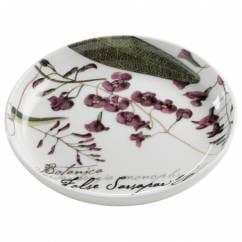 BOTANIC Untersetzer Floral Sarsaparille, 10 cm, Bone China Porzellan, in Geschenkbox