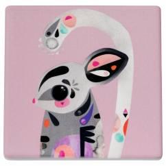 PETE CROMER Untersetzer Sugar Glider, Keramik - Kork