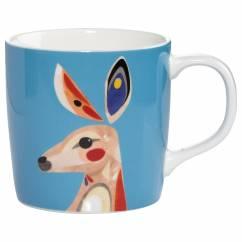 PETE CROMER Becher Kangaroo, Porzellan, in Geschenkbox