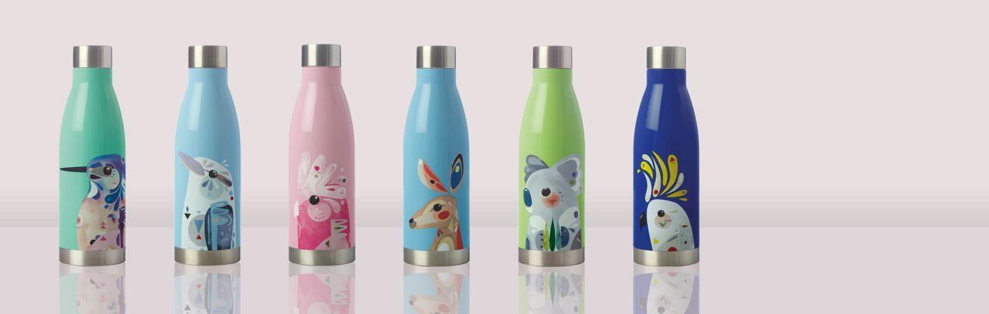 Trinkflaschen – Tierischer Trinkgenuss to go