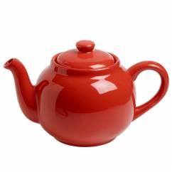 INFUSIONST Kaffeekanne Rot, Keramik, in Geschenkbox