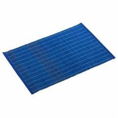 PLACESETS Platzset Blau, 45 x 30 cm, Bambus